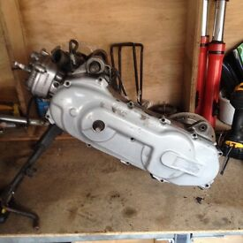 Yamaha aerox 70cc Engine