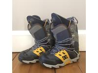 DC snowboard boots size 9 UK