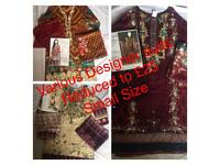 Pakistani Indian Asian clothes/Stitched small size