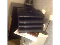 Virgin hub and 3 boxs