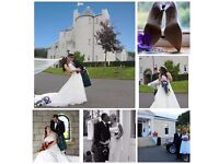 Wedding Photographer available in Scotland.