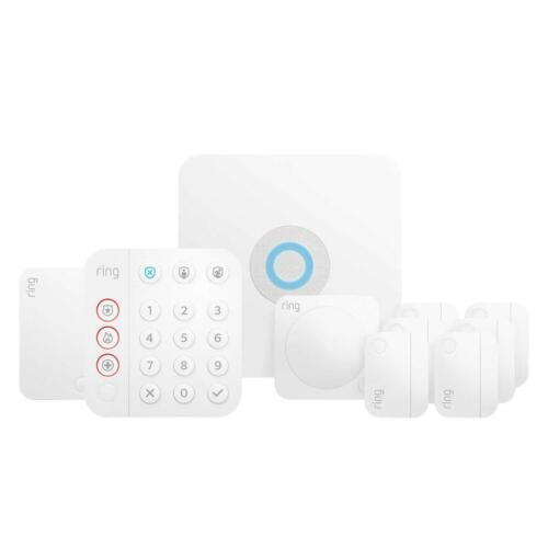 Brand New Ring 10 Piece Wireless Security Alarm Kit(2nd GEN) - FREE SHIPPING