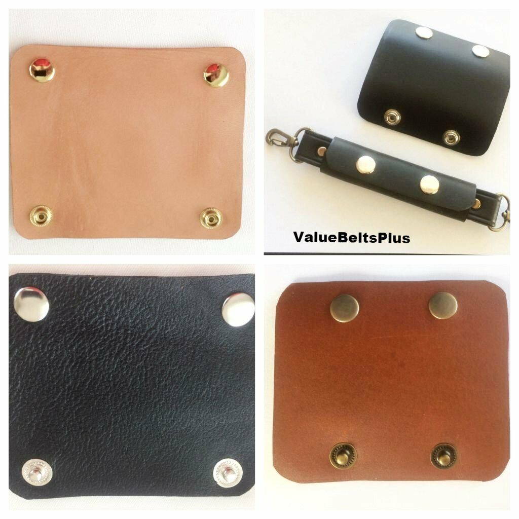 leather handle wrap strap holder pad