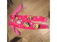 Brand new girls dispicable onesie age 5/6 by Primark