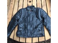 JT's leather motorbike jacket size: 42