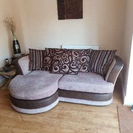 Pillow Back Sofa Lounger