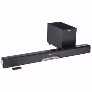 "Klipsch RSB-6 Reference 210-Watt Sound Bar with 6.5"" Wireless Subwoofer (No Box, No Remote)"