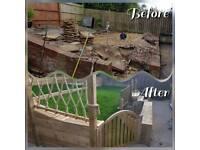 Landscaping, Decking, Fences, Summer Houses, Sheds & Garden Tidy