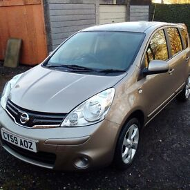 Nissan Note, 59 plate, FSH, 2 owners from new, VGC.