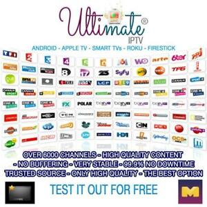 FREE 3 DAYS TRIAL - BEST OF THE BEST IPTV SERVICES EVER - 100% TRUSTWORTHY - THE ULTIMATE EPIC IPTV