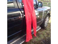 Water prof leggings New red