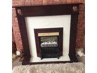 Fire surround and fire, £40 ONO pickup only