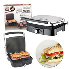 Large Healthy 2in1 Grill Sandwich Panini Toaster