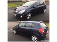 2012 VAUXHALL CORSA ACTIVE AC CDTI ECOFLEX 5DR, 2KEYS 1 OWNER FROM NEW, £30 TAX, HALF LEATHER
