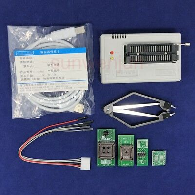 Xgecu Tl866ii Plus Programmer For Spi Flash Nand Eeprom Mcu Pic Avr 4adapters