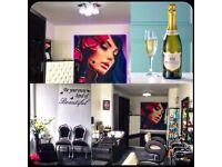 Beauty room/ hairstylist chair for rent/ nails station