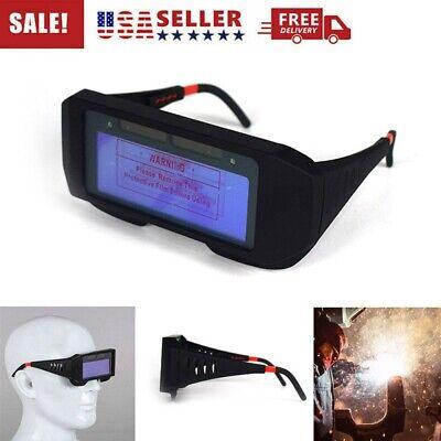 Solar Powered Auto Darkening Welding Mask Helmet Eyes Goggle Welder Glasses Hot