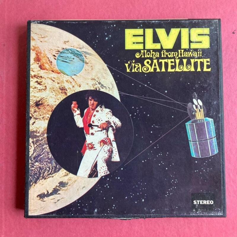 Elvis Aloha from Hawaii via Satellite RCA  RCA–EPPB 6 7.5 IPS Reel Tested Rare