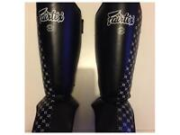 Fairtex Mma Muaythai Shin Protecters Xl new condition only used few times new condition