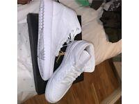 All white Jordan 1's Size 7/7.5/8