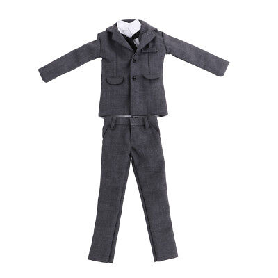 Costume Gris Pour Homme (Costume homme gris à l'échelle 1: 6 pour hommes)