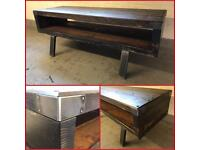 Tv unit/reclaimed/rustic