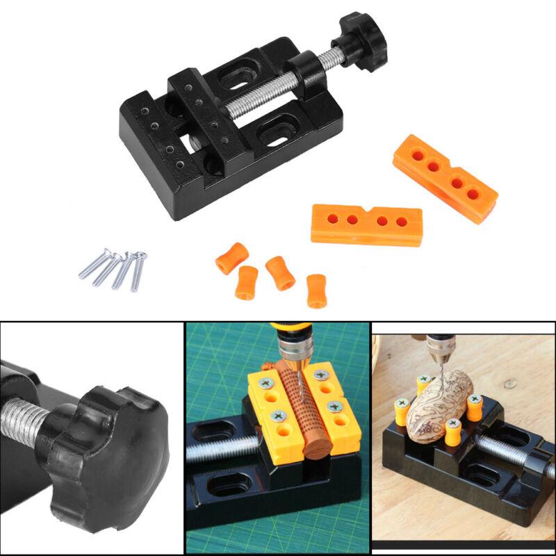 Mini Bench Clamp Micro Drill Press Vise Fixed Clip Flat Vise