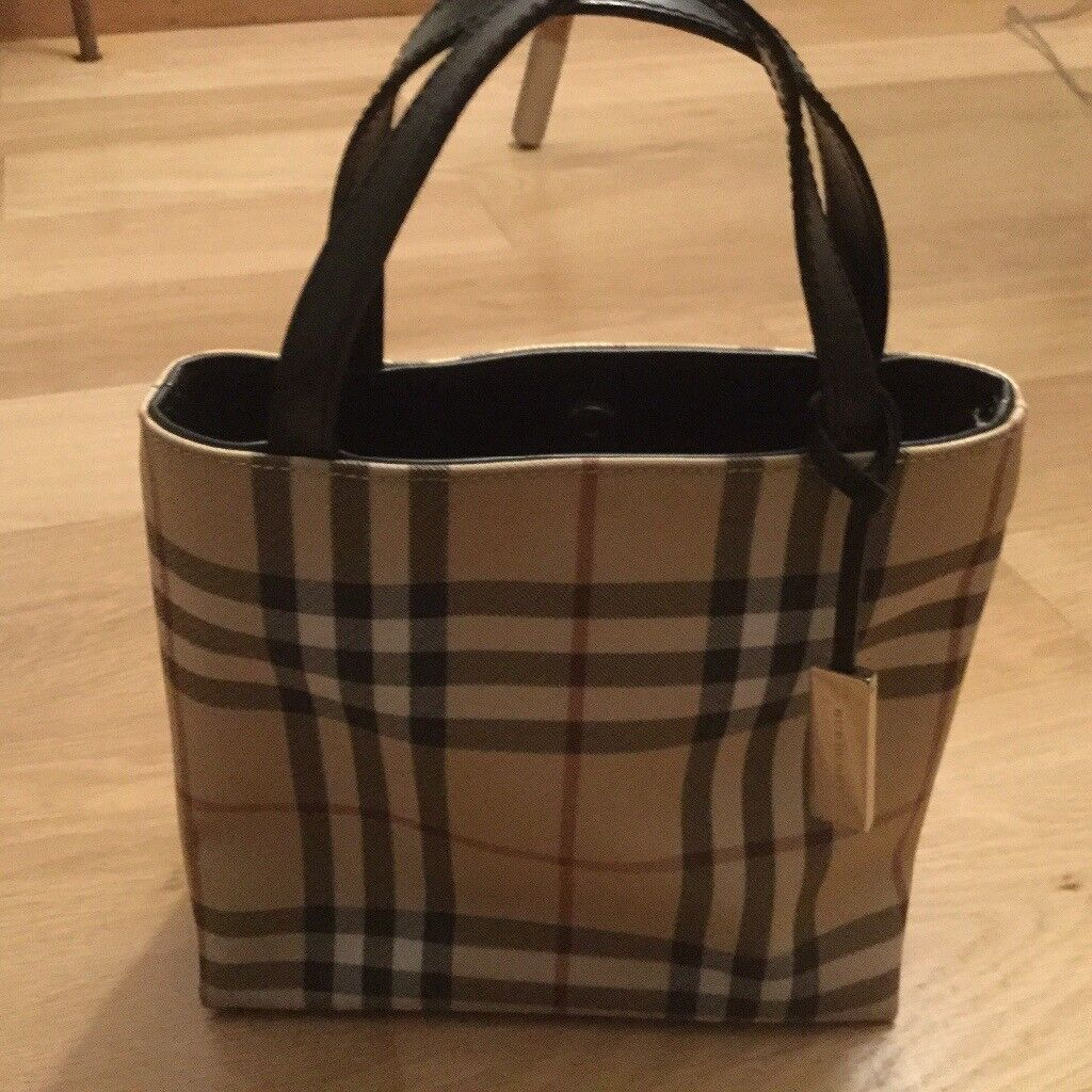 9afbce5a28 Small Burberry tote bag for sale