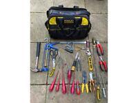 Tools and tool bag
