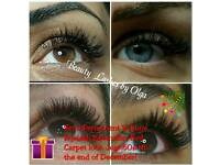 Semi Permanent Russian Volume, Individual, Volume Eyelash Extension. Manchester