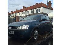 Vauxhall corsa 02 reg S/Auto spares repair £295