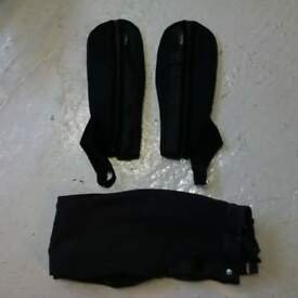 half chaps and riding leggins size small