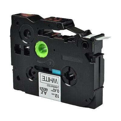 1pk Tze 231 Tz-231 Black On White Label Tape For Brother P-touch Pt1010 Printer