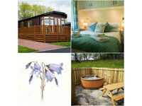 2 and 3 Nights weekends in a Beautiful HOT TUB Lodge from £250