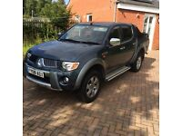Mitsubishi L200 warrior 2008 of only 100k 1 owner