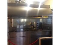 Turkish Grill, Extraction hood and Shelving