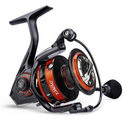 RUNCL Spinning Fishing Reel Rushmore 4000 - 6.2:1 High Speed Fishing Reel, 9+1BB