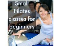 Small Pilates classes for Beginners starting Wed 15 March in West End