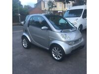 smart car passion with leather interior