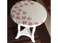 Wooden (painted) Side Table