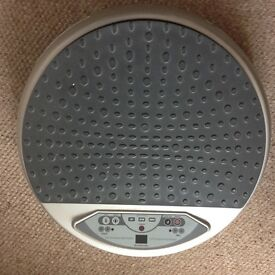 Vibration plate, shed those inches easily for 10 minutes a day