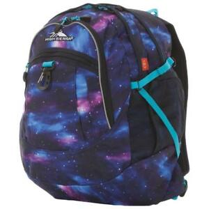 High Sierra 64020-5800 Tablet Day Backpack - Cosmos/Midnight Blue/Tropic Teal (New Other)