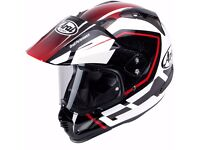 Arai Tour X4 Detour Motorcycle Helmet Size M Medium Crash Helmet Adventure Style *NEW*