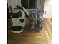 Bosch tassimo coffee maker/pods and holder