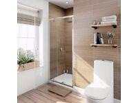 Brand new shower screen for walk-in shower