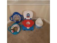Musical Potty 3 in 1 & toilet seat with handles padded soft training set