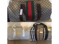 Gucci LV Burberry Holdalls Luggage Gym Travel Designer bags Louis Vuitton london cheap hendon barnet