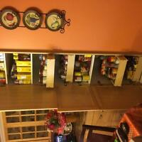 kitchen cabinets, Excellent condition, Full kitchen Reno