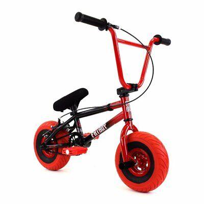 Fatboy Mini BMX Stunt  Spitfire Black Red Slick Freestyle Bike