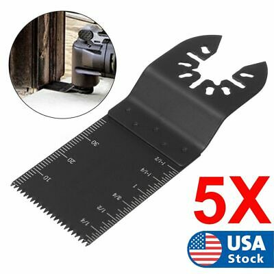 5packs Oscillating Multi Tool Saw Blade Kit For Fein Dewalt Bosch Accessories